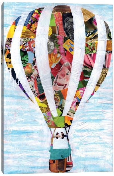Hot Air Balloon Canvas Art Print