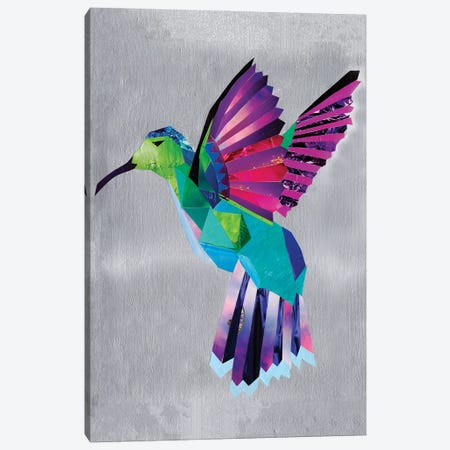 hummingbird Canvas Print #APT22} by Artpoptart Canvas Wall Art