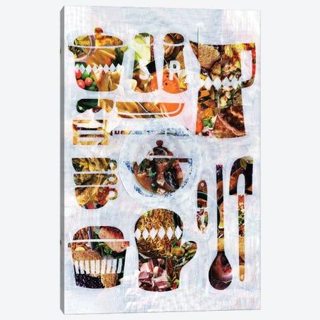Kitchen Collection Canvas Print #APT24} by Artpoptart Canvas Print