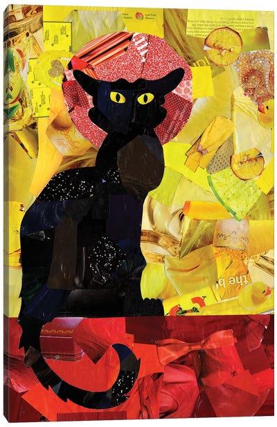 Le Chat Noir Canvas Art Print