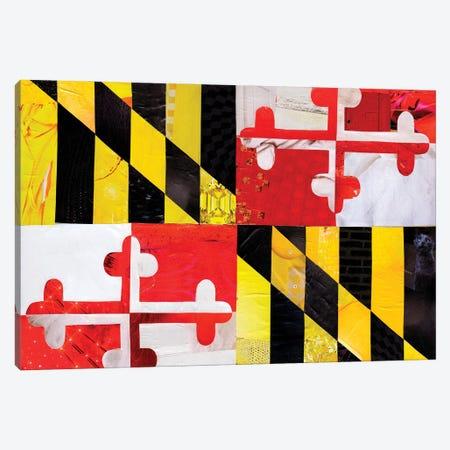 Maryland Canvas Print #APT28} by Artpoptart Canvas Artwork
