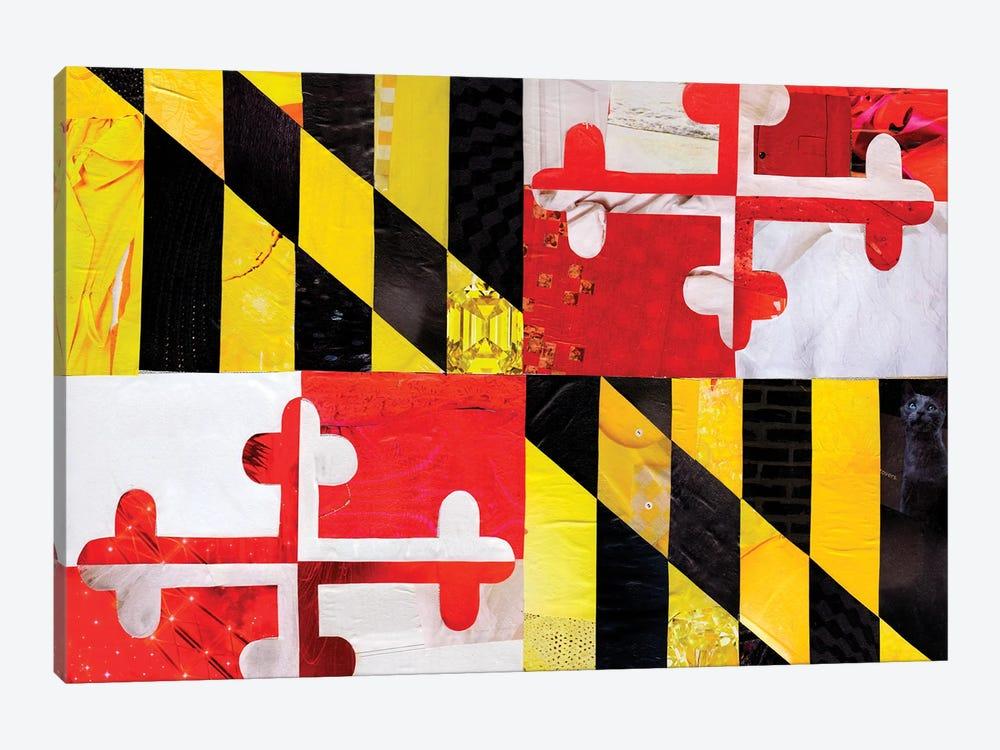 Maryland by Artpoptart 1-piece Canvas Wall Art