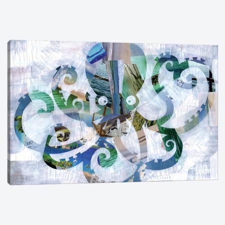 Octopus Canvas Print #APT34} by Artpoptart Canvas Art
