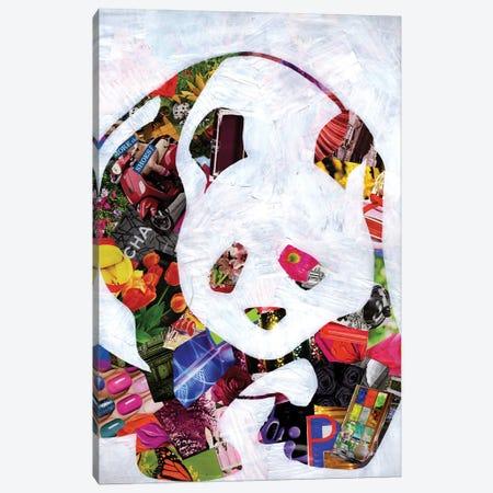 Panda Canvas Print #APT35} by Artpoptart Canvas Artwork