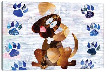 Puppy Canvas Art Print