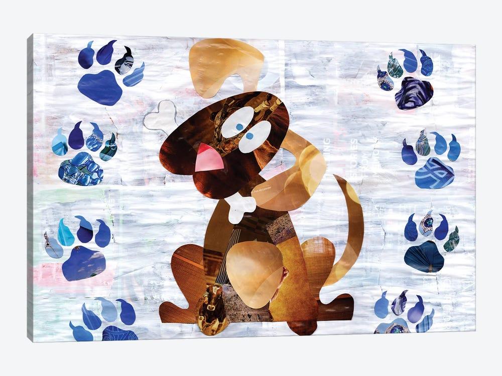Puppy by Artpoptart 1-piece Canvas Artwork