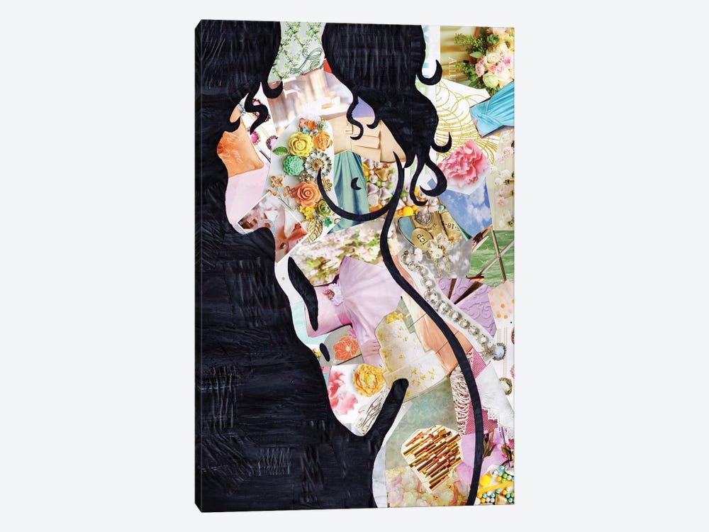 Brunette by Artpoptart 1-piece Canvas Print