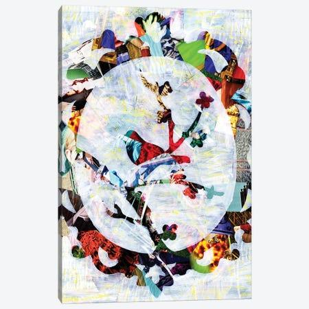 Regal Bird Canvas Print #APT41} by Artpoptart Canvas Wall Art