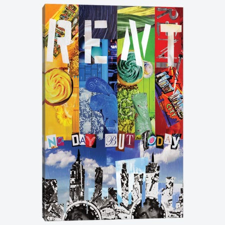 Rent Canvas Print #APT43} by Artpoptart Canvas Artwork