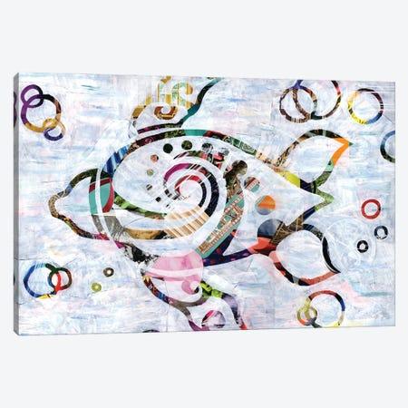 Sea Turtle Canvas Print #APT46} by Artpoptart Art Print