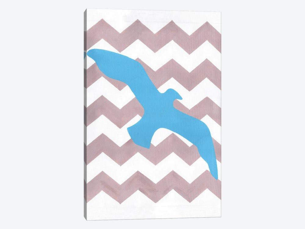 Seagull by Artpoptart 1-piece Canvas Art Print