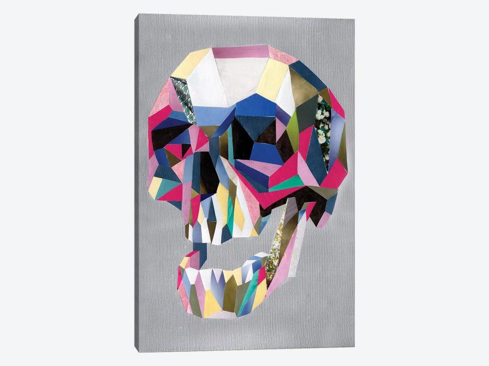 Skull by Artpoptart 1-piece Canvas Art Print