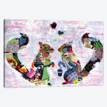 Squirrels Canvas Print #APT50} by Artpoptart Art Print