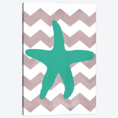 Starfish Canvas Print #APT51} by Artpoptart Art Print