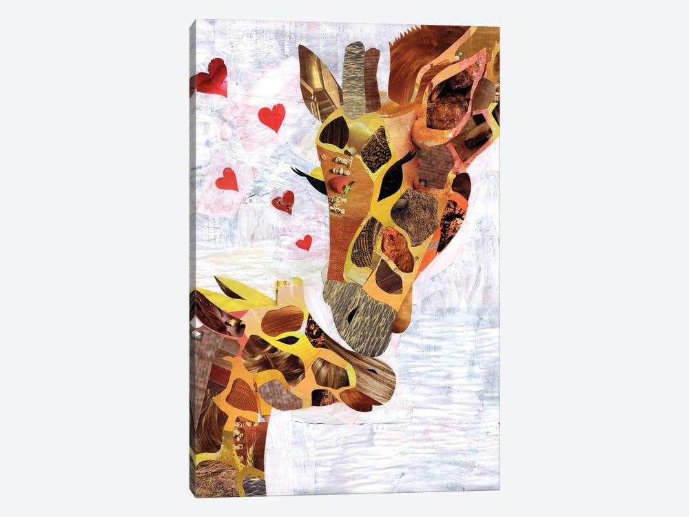 Sweet Giraffes by Artpoptart 1-piece Art Print