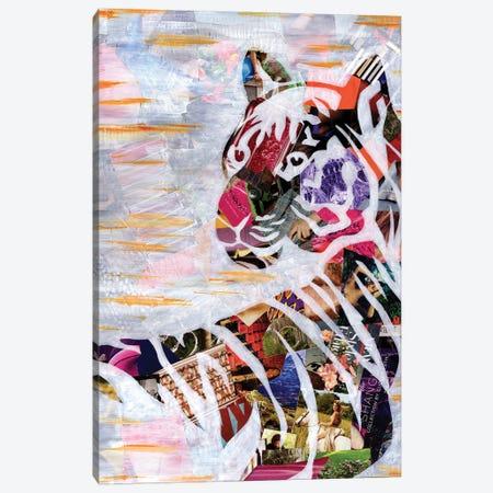 Tiger Canvas Print #APT53} by Artpoptart Canvas Art Print