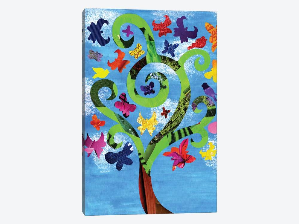 Butterfly Tree by Artpoptart 1-piece Art Print