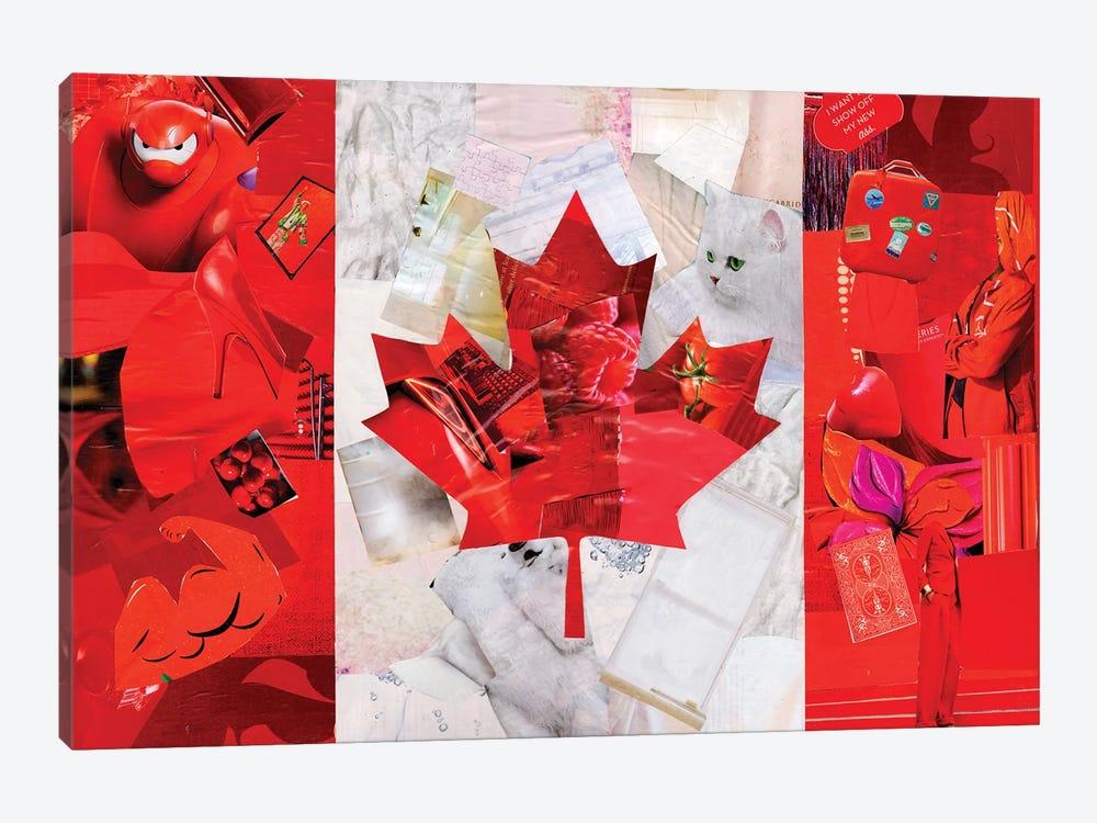 Canada by Artpoptart 1-piece Canvas Wall Art