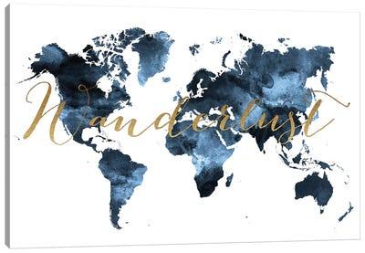World Map Wanderlust II Canvas Art Print