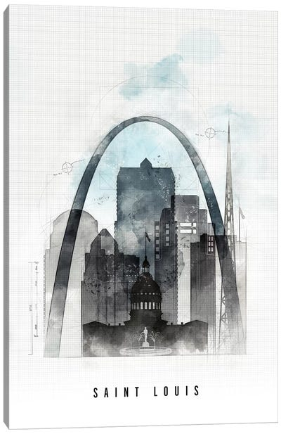 Saint Louis Urban Canvas Art Print