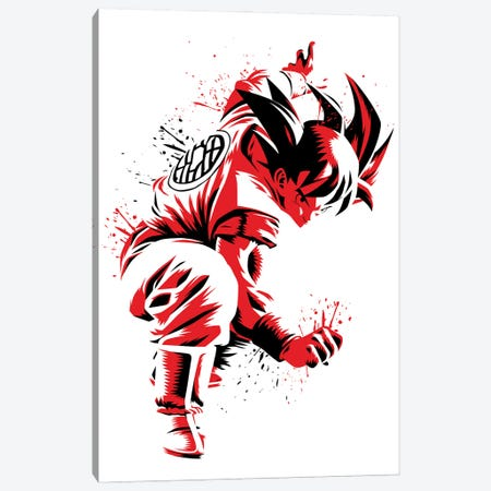 Prepared To Fight Canvas Print #APZ11} by Alberto Perez Canvas Art Print