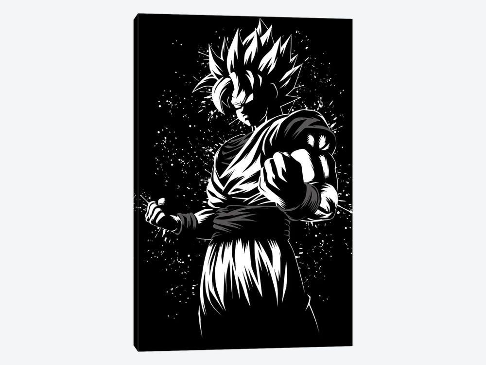 Super Ink Warrior by Alberto Perez 1-piece Canvas Art Print