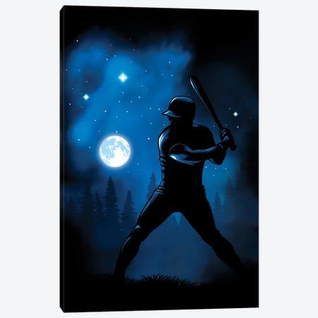 Beating The Moon Canvas Print #APZ12} by Alberto Perez Canvas Art Print