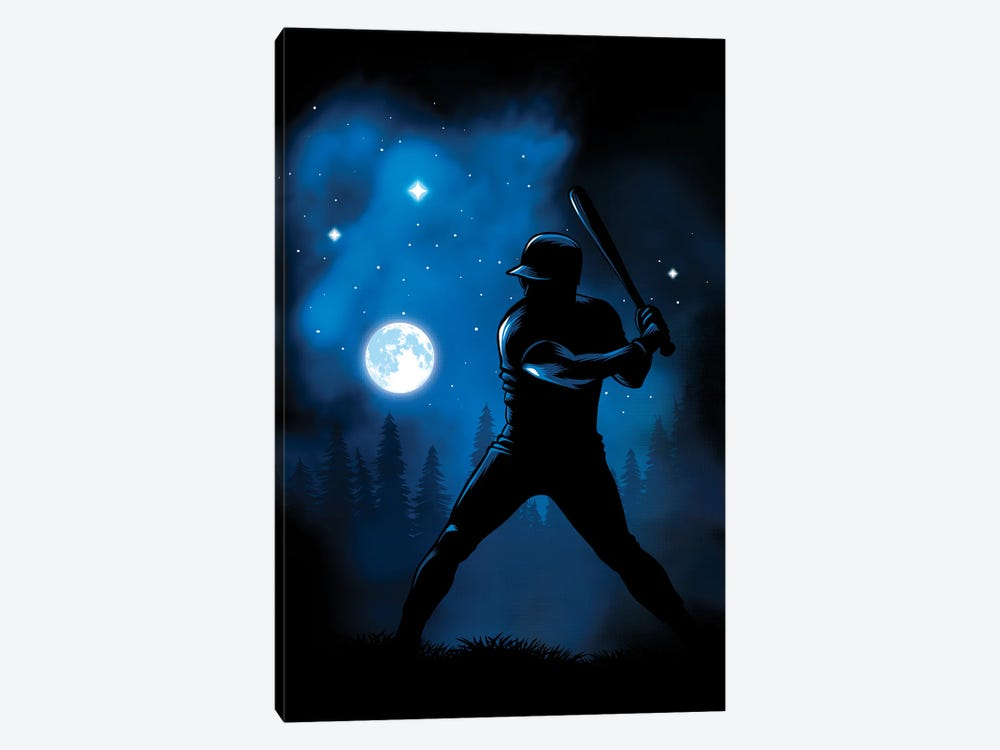 Beating The Moon by Alberto Perez 1-piece Canvas Wall Art