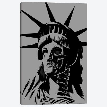 Statue Skull Canvas Print #APZ136} by Alberto Perez Canvas Wall Art