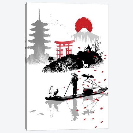fisherman in japan Canvas Print #APZ154} by Alberto Perez Canvas Art