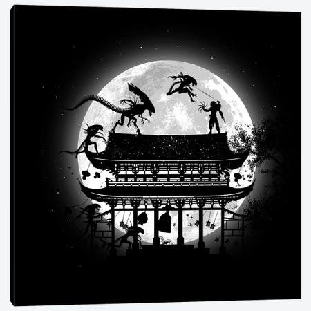 Battle in temple Canvas Print #APZ157} by Alberto Perez Canvas Art