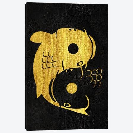 Yin Yang Carp Canvas Print #APZ166} by Alberto Perez Art Print