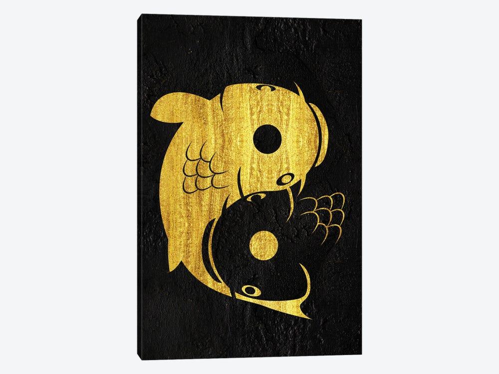 Yin Yang Carp by Alberto Perez 1-piece Canvas Wall Art