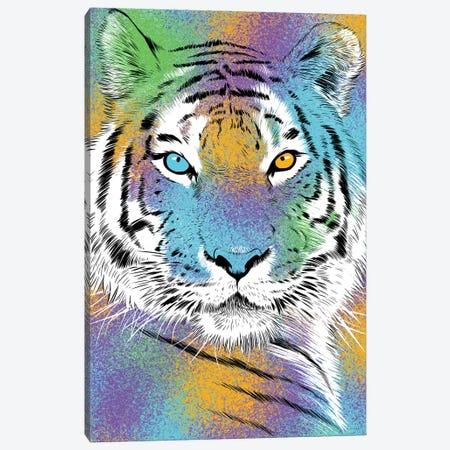 Sketch Tiger Colorful Canvas Print #APZ177} by Alberto Perez Canvas Wall Art