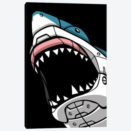 Mechanic Shark Canvas Print #APZ194} by Alberto Perez Canvas Art