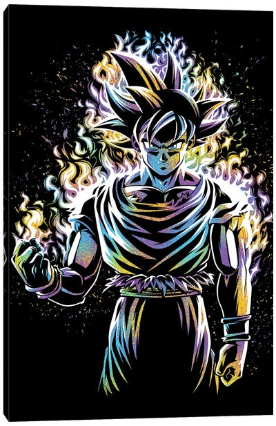 Ultra Instinct Canvas Art Print