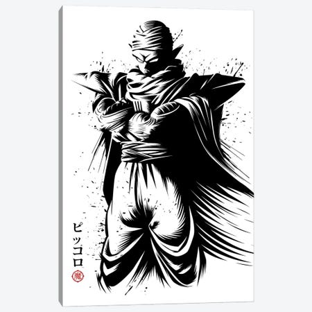 Ink Namek Canvas Print #APZ209} by Alberto Perez Art Print