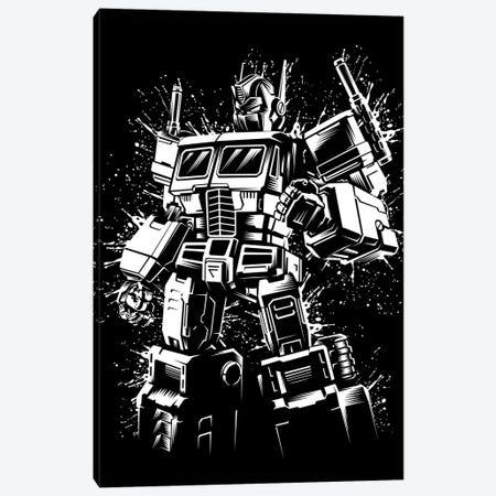 Inking Robot Canvas Print #APZ214} by Alberto Perez Canvas Art Print