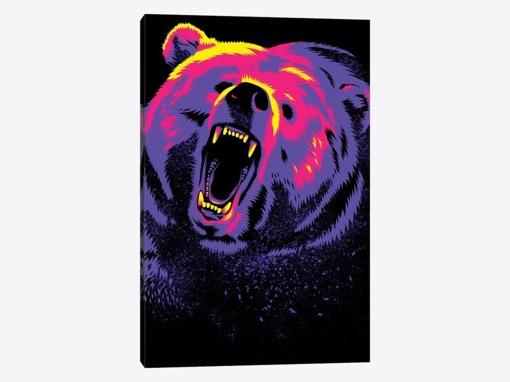 Purple Grizzly by Alberto Perez 1-piece Art Print