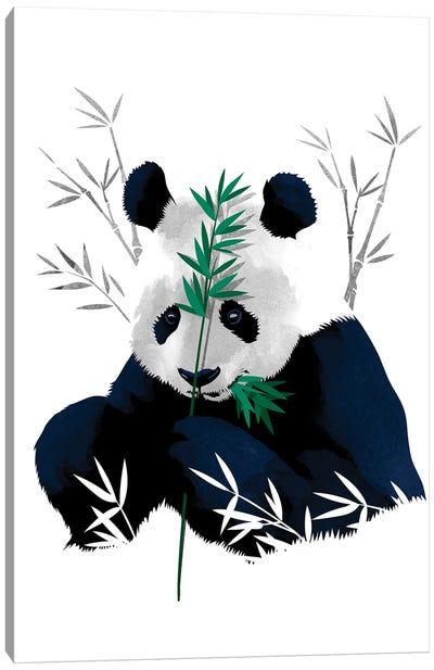 Bambo Panda Canvas Art Print