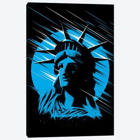Statue Of Liberty Canvas Print #APZ246} by Alberto Perez Canvas Wall Art