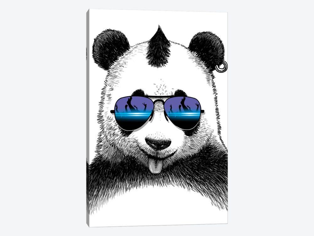 DJ Panda by Alberto Perez 1-piece Art Print