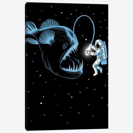 Space Trap Canvas Print #APZ2} by Alberto Perez Canvas Art Print