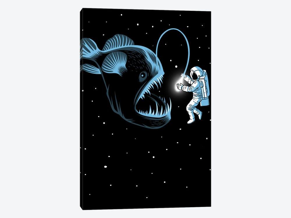 Space Trap by Alberto Perez 1-piece Canvas Artwork