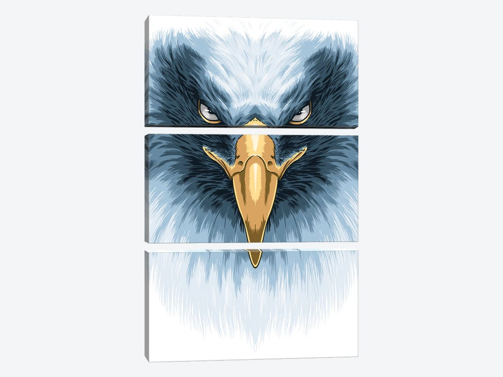 White Eagle by Alberto Perez 3-piece Canvas Artwork