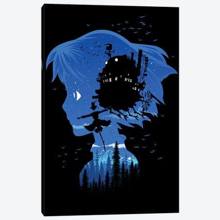 Castle Night 3-Piece Canvas #APZ32} by Alberto Perez Art Print