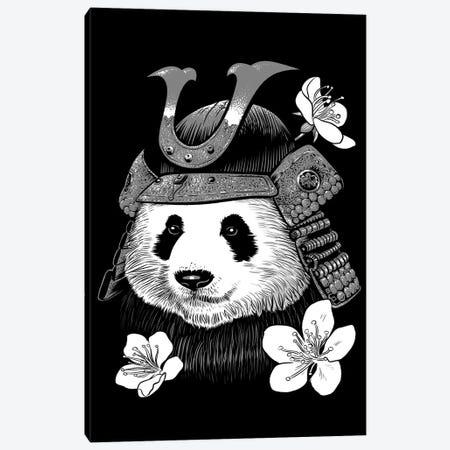 Panda Samurai Canvas Print #APZ340} by Alberto Perez Canvas Artwork