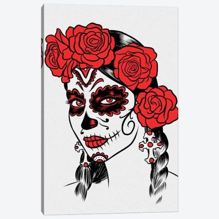 Mexican Girl Dead Canvas Print #APZ341} by Alberto Perez Canvas Wall Art
