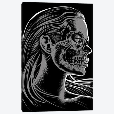 Girl Skull Canvas Print #APZ345} by Alberto Perez Canvas Print
