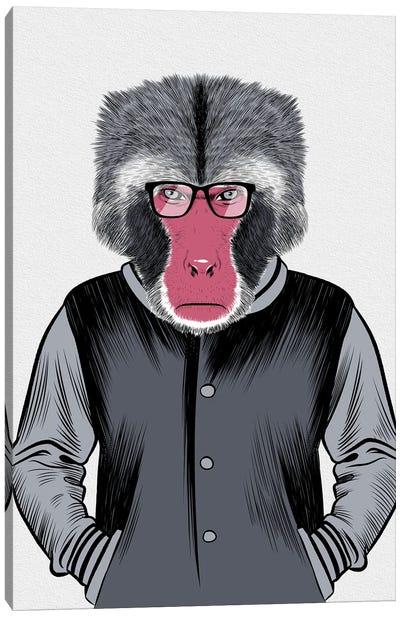 Ape School Canvas Art Print